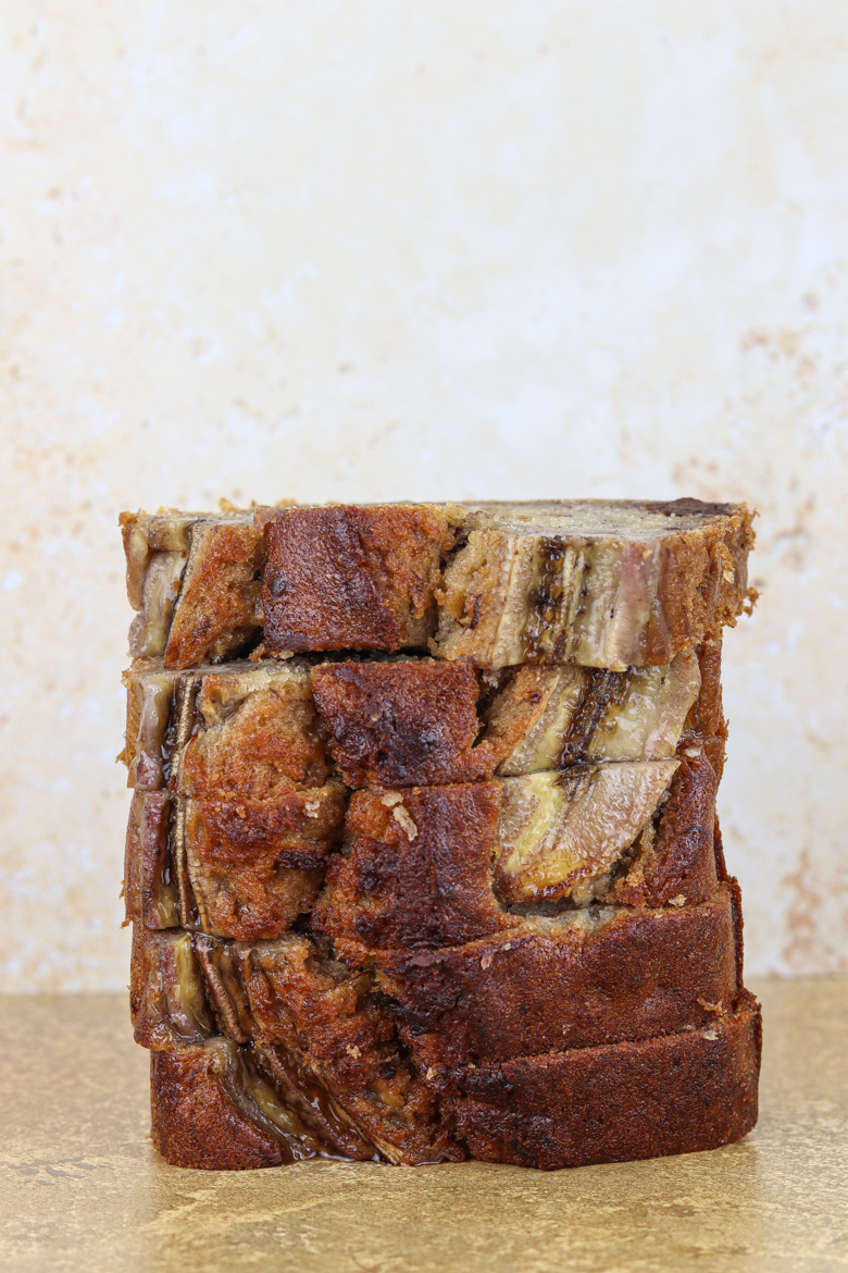 With its perfect moist texture, butter and honey flavor and chunks of banana, chocolate and nuts, this is my best banana bread recipe ever!