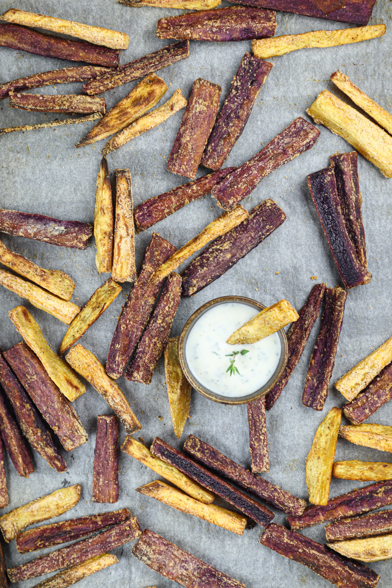 When craving for fries, these oven baked sweet potato fries are not only healthy but also super delicious, guaranteed crispy and flavorful.