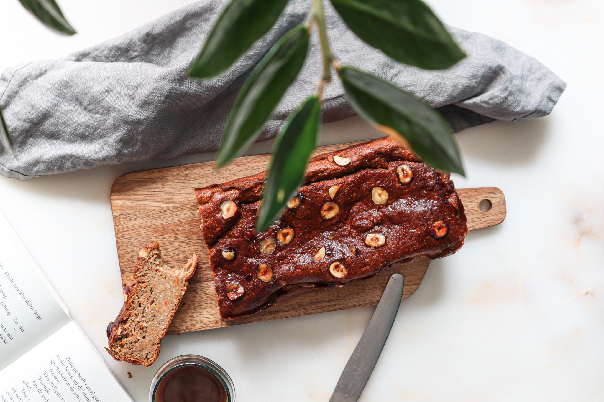 This isn't just a regular banana bread, it's a healthy delicious mix of a moist carrot cake with your favorite banana bread.