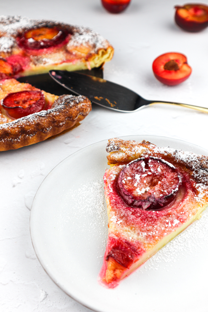 This classic French dessert is made with plums and a custard mixture poured in between. It has a melt-in-the-mouth texture you will enjoy!